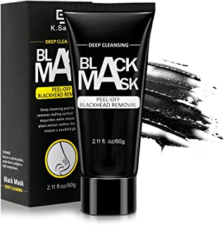 Blackhead Remover Mask, Charcoal Peel Off Mask, Deep Cleansing Facial Mask for Face and Nose For All Skin Types