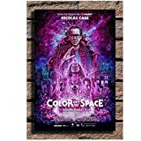 Color Out of Space Movie Nicolas Cage Painting Poster Print