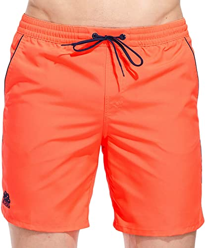 SUNDEK courte de Bain - Homme Orange Fluo Orange