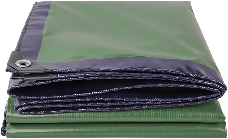 JNYZQ Verdicken Sie Heavy Heavy Heavy Duty-Plane-Blatt-Abdeckungen im Freien regendichte Tarp-Schuppen-Stoff-grüne Wasserdichte Plane (größe   2x4m) B07JNRQNQM  Trendy 368cc1