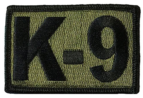 K-9 Tactical Patch 2'x3' - Olive Drab