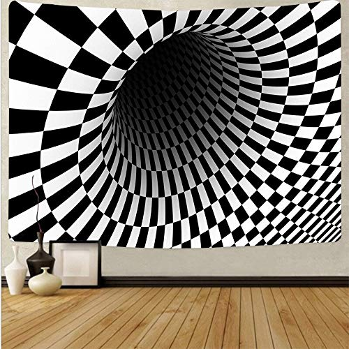 Arte psicodélico tela colgante decoración del hogar tapiz dormitorio dormitorio revestimiento de paredes tela de fondo abstracto a21 180x200 cm