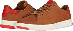 New Tan Nubuck/Flame Scarlet