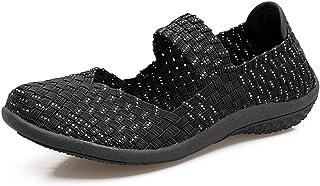 Scarpe da Donna Scarpe da Mare Summer Slip On Fashion Sneakers Low Top Mocassini Traspiranti Sandali da Donna Leggeri da E...