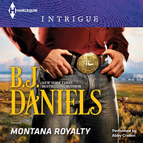 Montana Royalty audiobook cover art