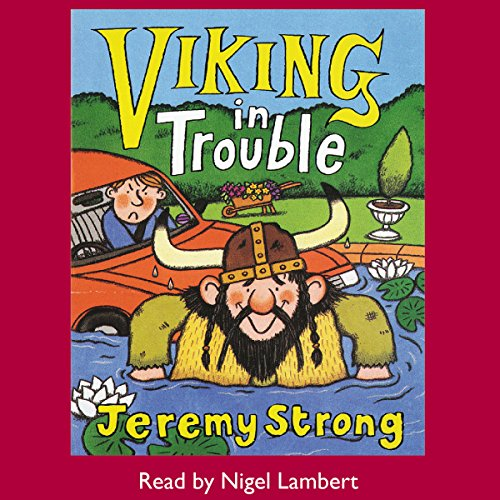 Viking in Trouble audiobook cover art