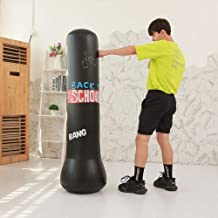 abiet Boxsack Erwachsene Freistehender Standboxsack Boxpartner Boxing Trainer Heavy Duty Boxsack Set Stehend Boxs/äule Tumbler Schwarz