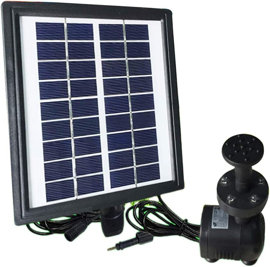DOITOOL Solar Manufacturer direct delivery Fountain Pump Sales for sale Powered LED Gar Water