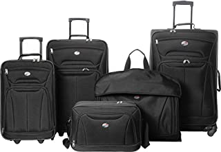 Wakefield 5 Piece Luggage Set (Black)