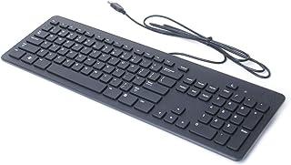 لوحة مفاتيح كمبيوتر أصلية من Dell F8M3Y, KB113P USB رفيعة سوداء هادئة لأجهزة الكمبيوتر المكتبية وأجهزة الكمبيوتر المحمولة ...