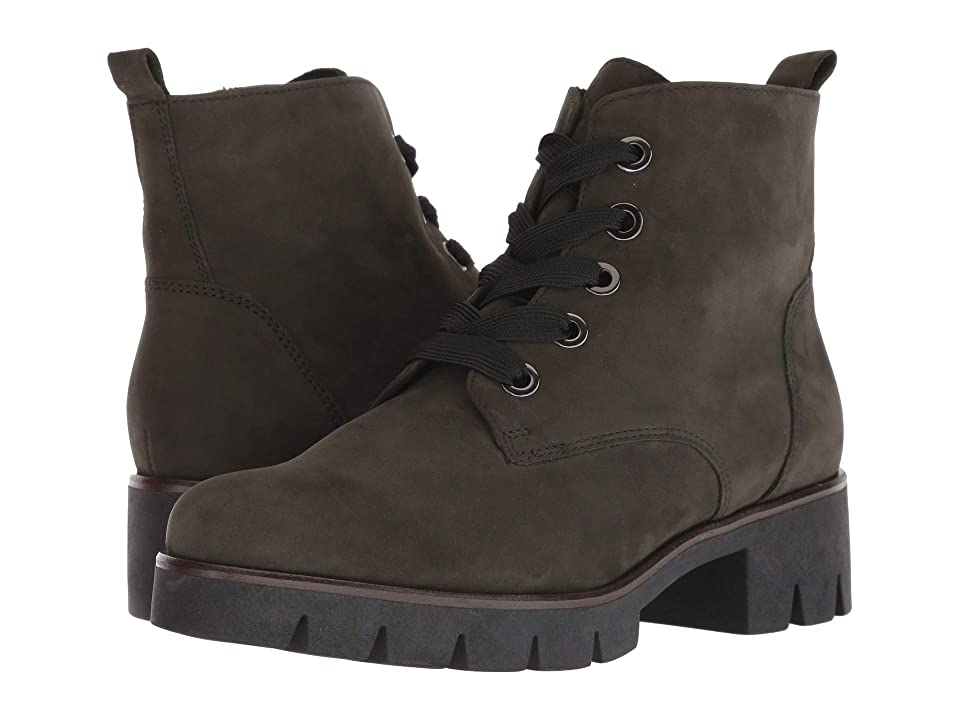 Gabor Gabor 93.711 (Olive) Women's Lace-up Boots