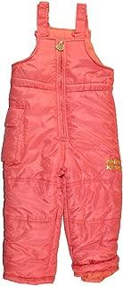 Little Girls' Solid Color Snow Bib/Pant