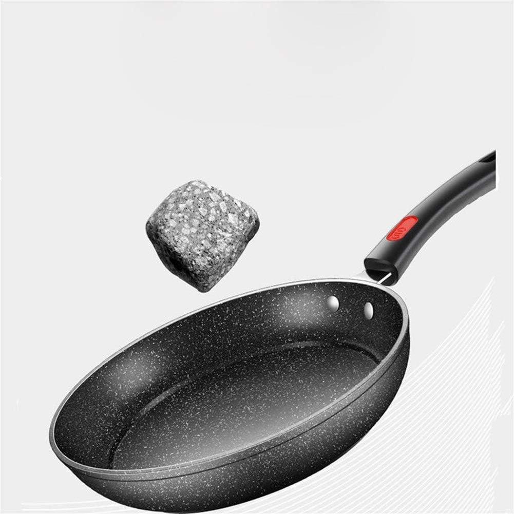 Multifonctionnel Maifan Pierre Pot antiadhésif Batterie de cuisine sans fumée (Color : 26cm) 24cm