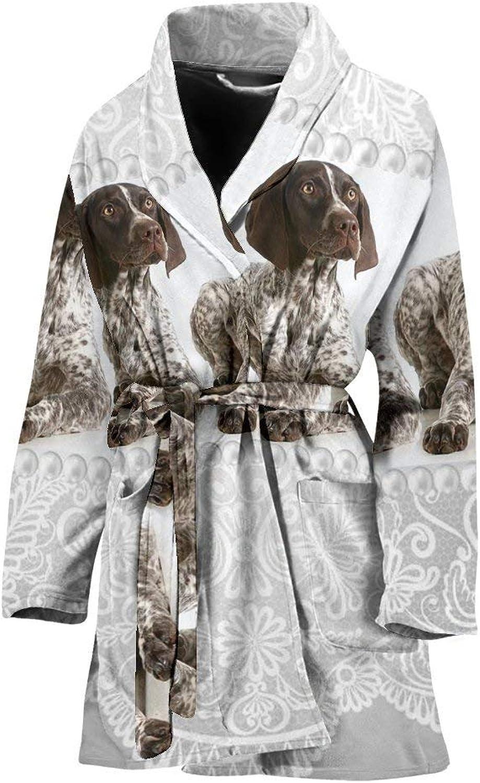 Amazing English Springer Spaniel Dog Print Women's Bath Robe