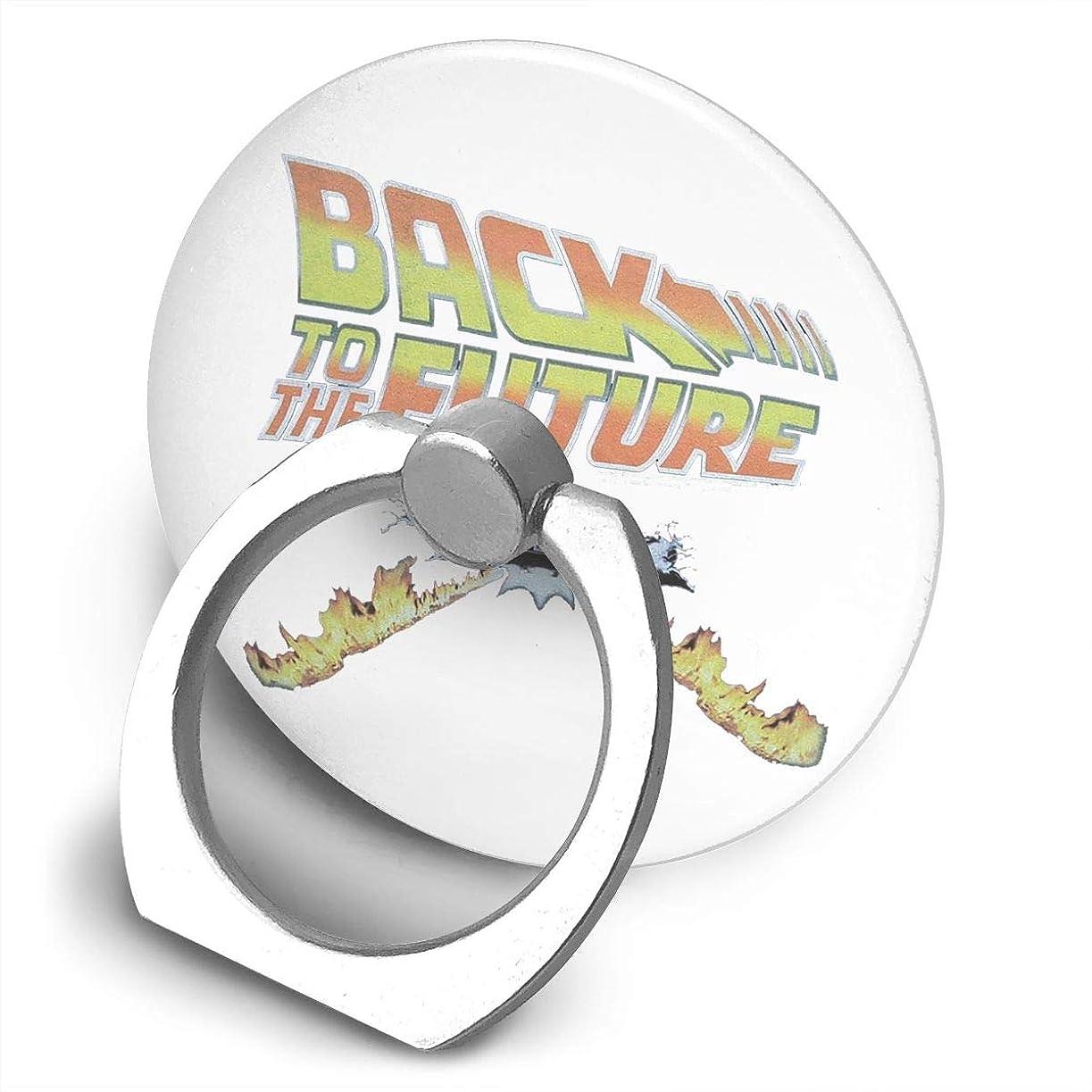 鉱石また願望バックトゥザフューチャー BACK TO THE FUTURE スマホ リング ホールドリング 指輪リング 薄型 おしゃれ スタンド機能 落下防止 360度回転 タブレット/スマホ IPhone/Android各種他対応