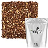 Tealyra - Rooibos Coconut Vanilla Chai - Ginger and Cinnamon with Red Bush Rooibos Herbal Loose Leaf Tea - Antioxidants Rich - Caffeine-Free - 220g (8-ounce)