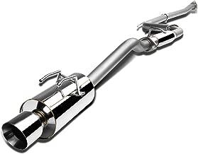 DNA Motoring CBE-HC12SI4-NRT CBEHC12SI4NRT Stainless Steel Catback Exhaust System