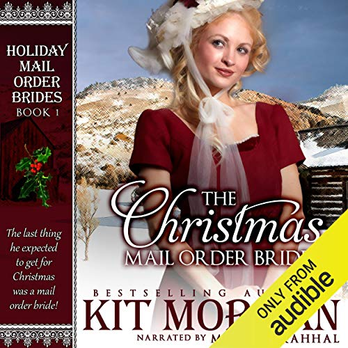 The Christmas Mail Order Bride audiobook cover art