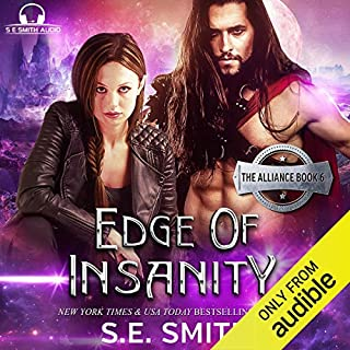 Edge of Insanity audiobook cover art