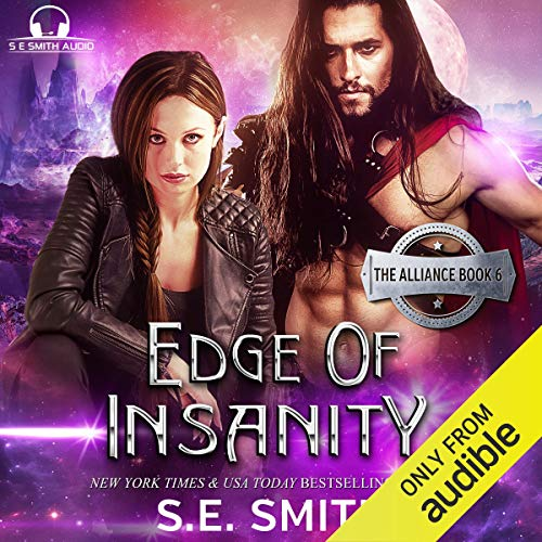 Edge of Insanity audiobook cover art