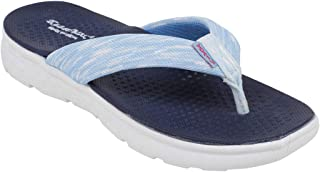 KazarMax Women Blue Stylish/Super Soft/Ultra-Light/ Flip-Flop
