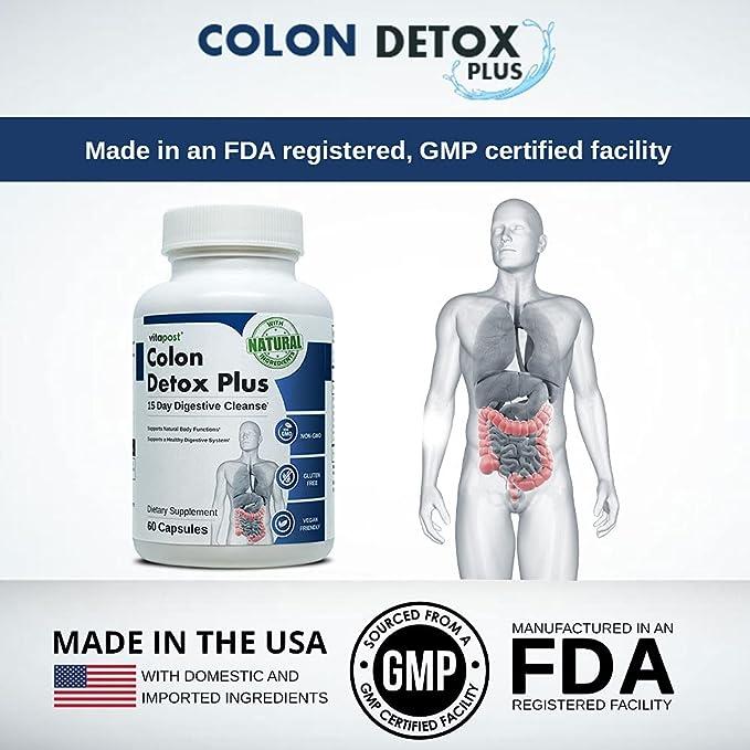 colon intestinal curăță detox