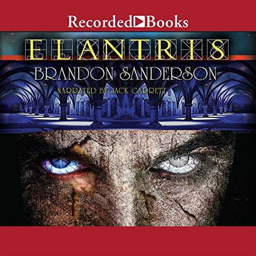 Elantris audiobook cover art