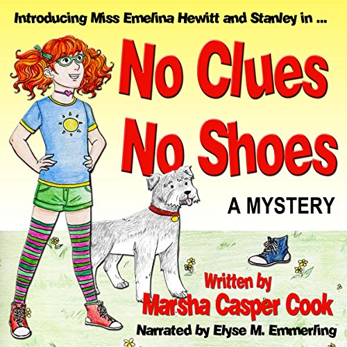 No Clues, No Shoes audiobook cover art