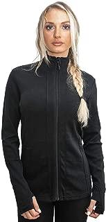 Woolx Finley - Women's Merino Wool Full Zip Up Sweater Jac - Extremely Warm Sweatshirt