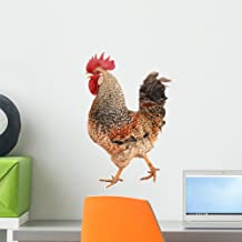 Wallmonkeys WM55634 Rooster Peel and Stick Wall Decals (18 in H x 12 in W), Small