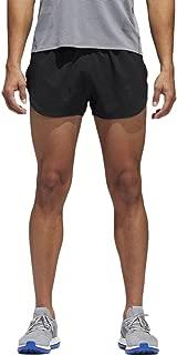 Sport Performance Men's Supernova Split Shorts, Black, 2XL