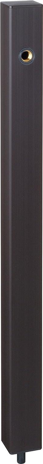 小学生二層吸収する水栓柱 EX柱HI-A16×940ブラウン 水協
