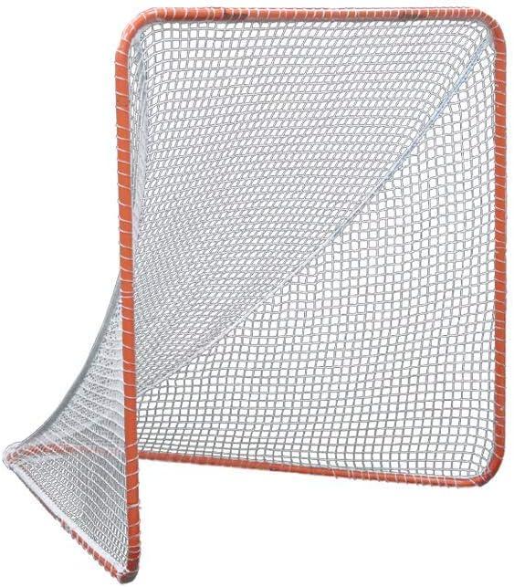 Gladiator Lacrosse Official Elegant Goal Stee Max 72% OFF Net 100% Orange