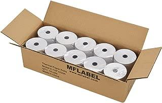 MFLABEL 10 Rolls Thermal Receipt Paper Rolls 3-1/8 x 230ft