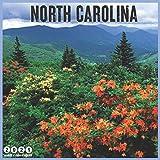 North Carolina 2021 Wall Calendar: Official N Carolina State Calendar 2021, 18 Months