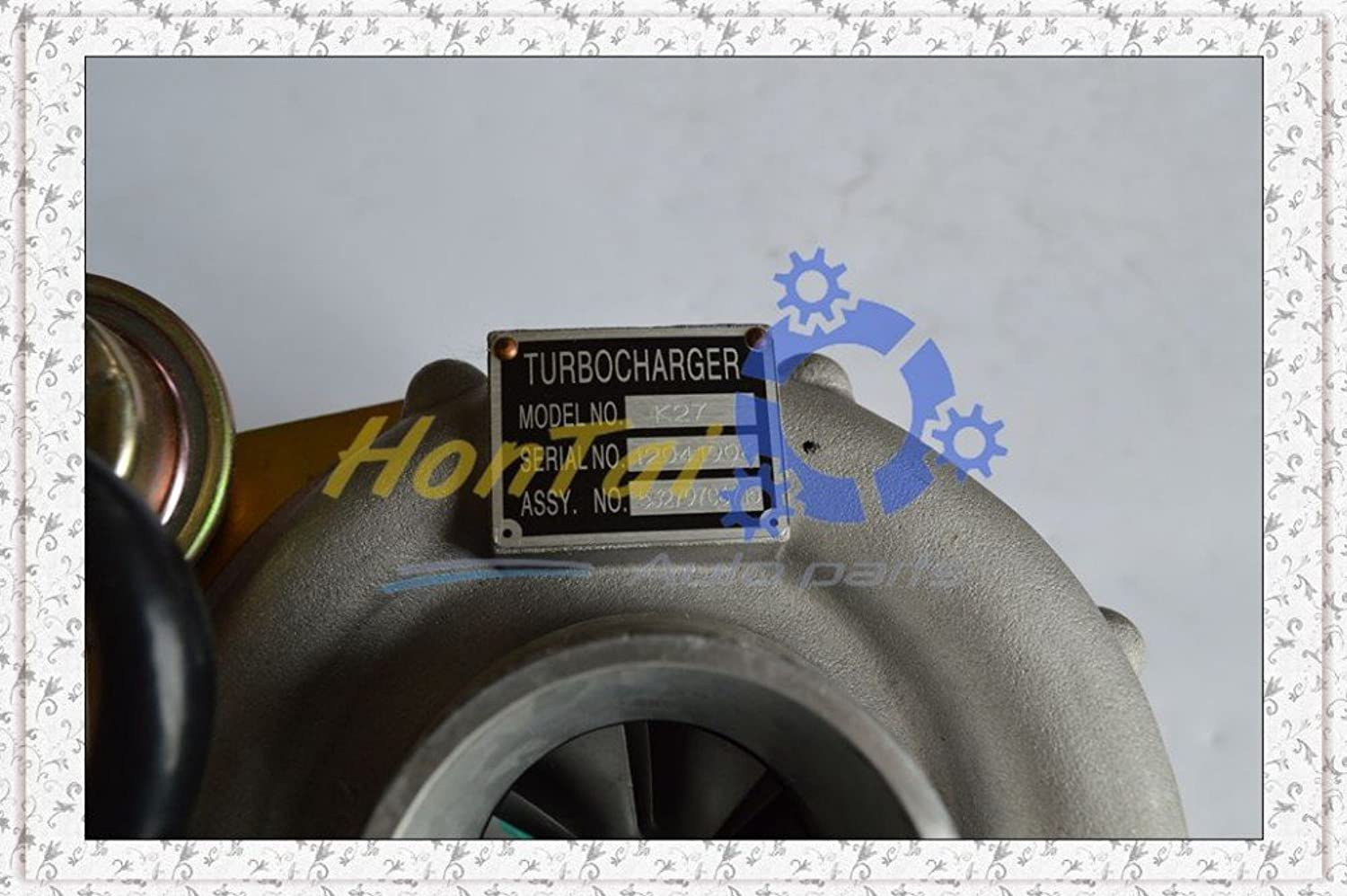 New K27 53279706715 Turbocharger For 9408 IvecoFiat Truck Euro cargo 8060.45.4400 Euro 2 5.9L 150 204KW