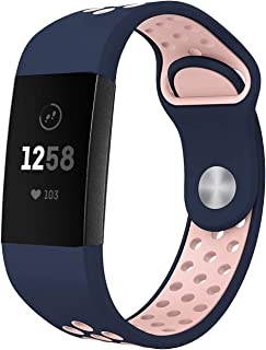 factory authentic 48842 aee7a NO1seller Top Band Compatible for Fitbit Charge 3 and SE Fitness Tracker  Women Men Small Large