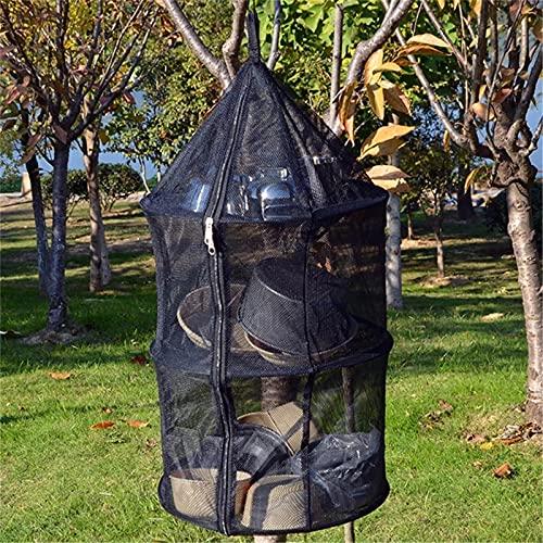 DXENXPG Red de Secador Colgante Camping al Aire Libre portátil Anti Mosquito...