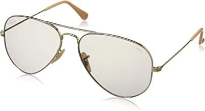 Ray-Ban AVIATOR LARGE POLARIZED METAL