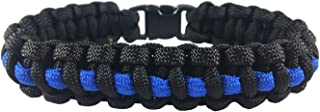 Best thin blue line paracord watch Reviews