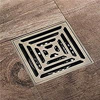 GAXQFEI 床の排水、正方形の銅の床の防錆浴室の排水ガードgully Gridウェットルームのシャワートラップのシャワーの排水箱のアダプタ排水トレンチの排水保護