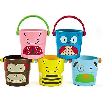 Skip Hop Bath Toys: Stack & Pour Buckets