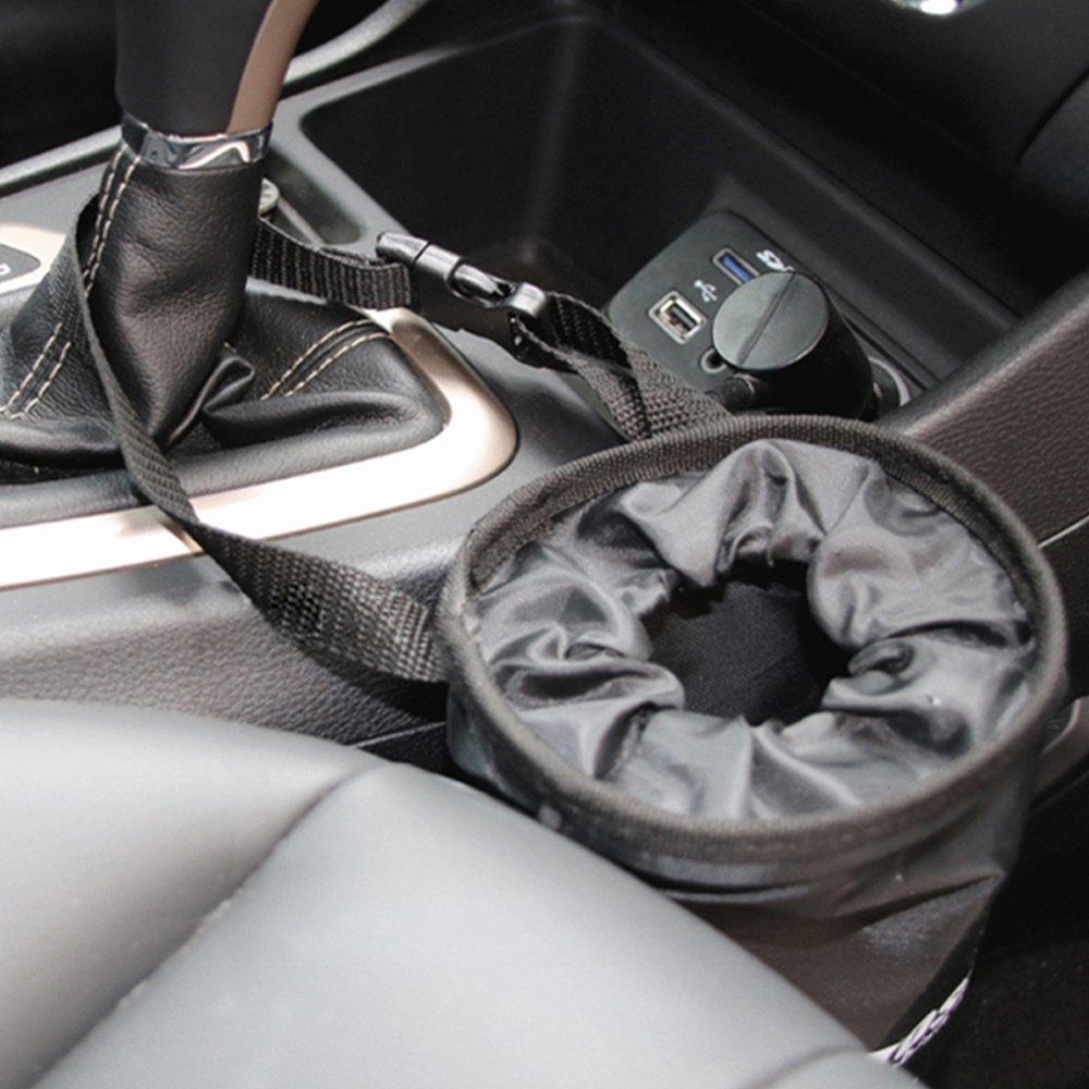 respetuosas con el medio ambiente a prueba de fugas lavables Bolsas de basura para reposacabezas de coche i-Sure 2 unidades