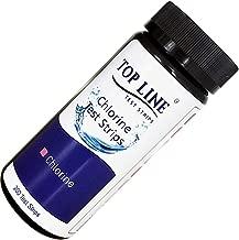 200 Strips - Chlorine Sanitizer Test Strips Food Service 0-500 ppm (Value Pack) - Bleach Test Strips - Chlorine Test Strips for Food Service - Restaurant Test Strips - Chlorine Test