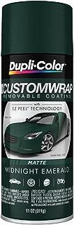 Dupli-Color ECWRC8137 Custom Wrap Matte Midnight Emerald