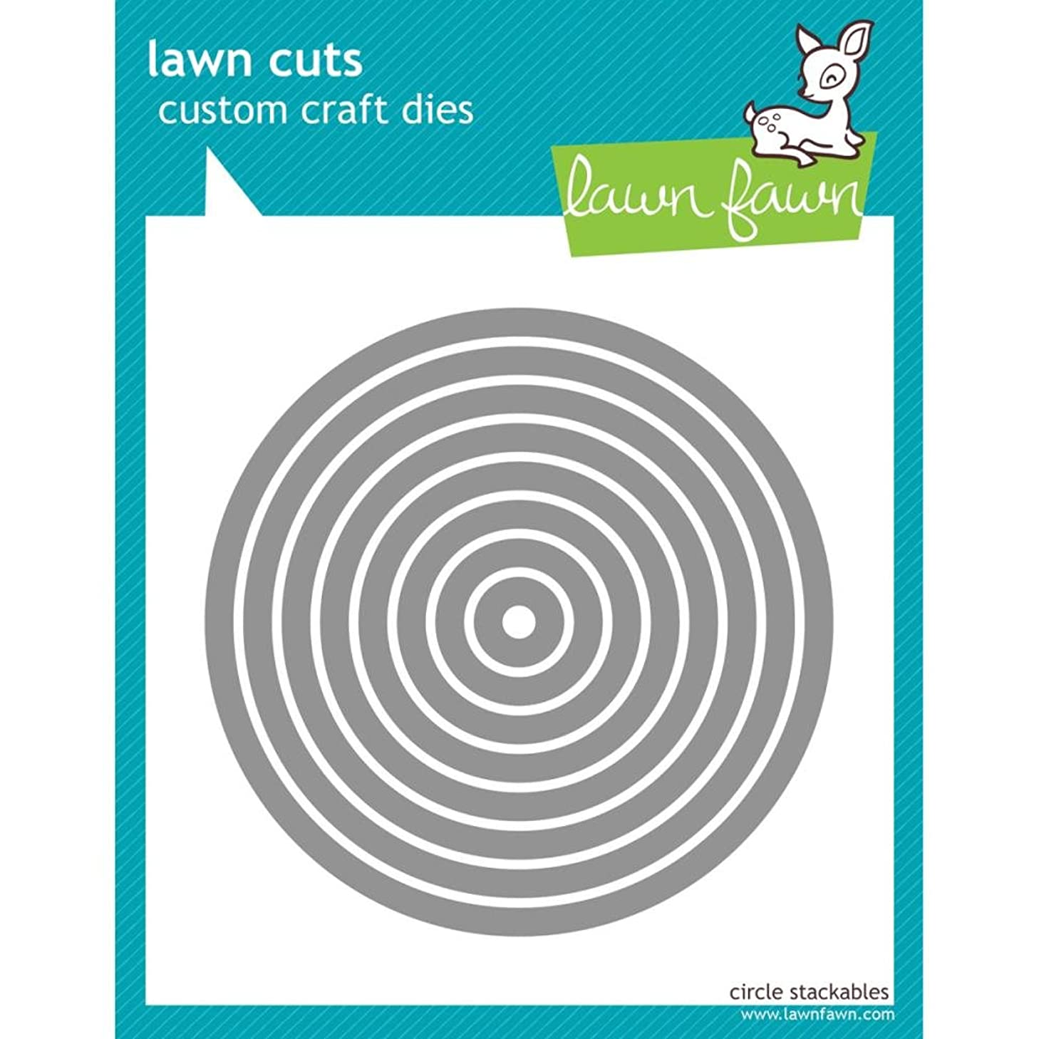 Lawn Cuts Custom Craft Dies-Circle Stackables