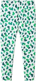 Moneycom, (2Y-9Y - Pantalones para el día de San Patricio con trébol irlandés para el día nacional irlandés de poliéster A, B, C, D, E