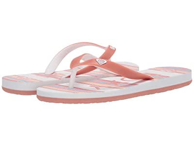 Roxy Kids Tahiti VII (Little Kid/Big Kid) (Coral) Girl