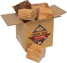 Smoak Firewood Cooking Wood Chunks - USDA Certified Kiln Dried (Pecan, 8-10 lbs)