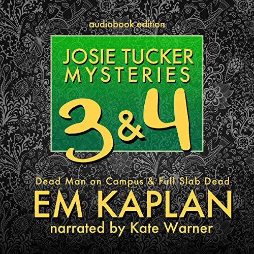 Josie Tucker Mysteries 3 & 4 audiobook cover art